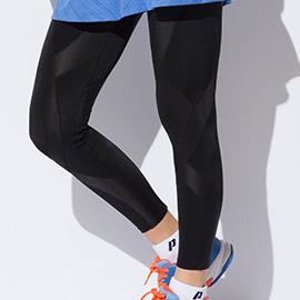 まるで膝にバネが組み込まれたような『ジェネレーター』! 女性用下着メーカーだからこそ生み出せた【CW-X】という文化