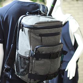 あれこれ工夫を凝らした新作バッグ。これはまるで『コンバットベスト』だ。使い勝手重視なら、プリンスを選ぶしかない!
