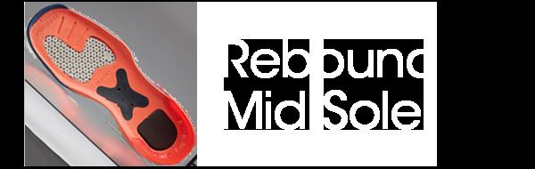 button Rebound Mid Sole