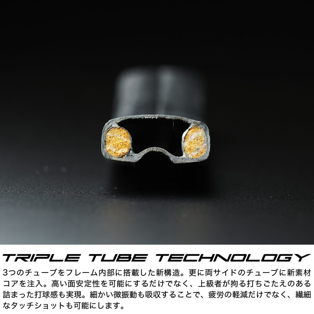 Ⅹ-triple tube technology